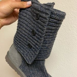CLASSIC CARDY blue boots